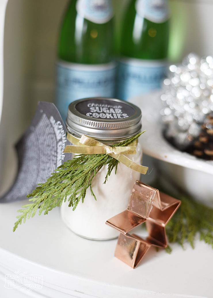 Sugar Cookies in a Jar Gift Idea