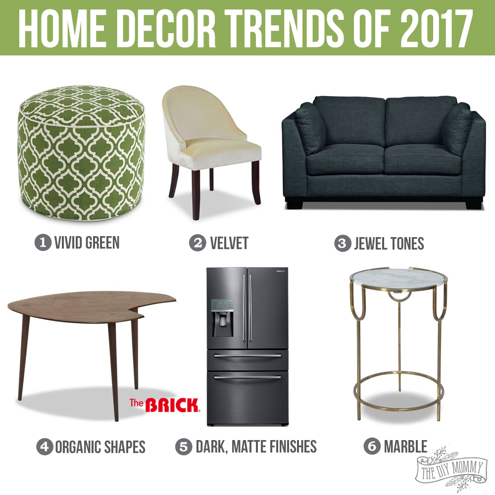 2017 home decor trends how you can make them family for Household decorative items