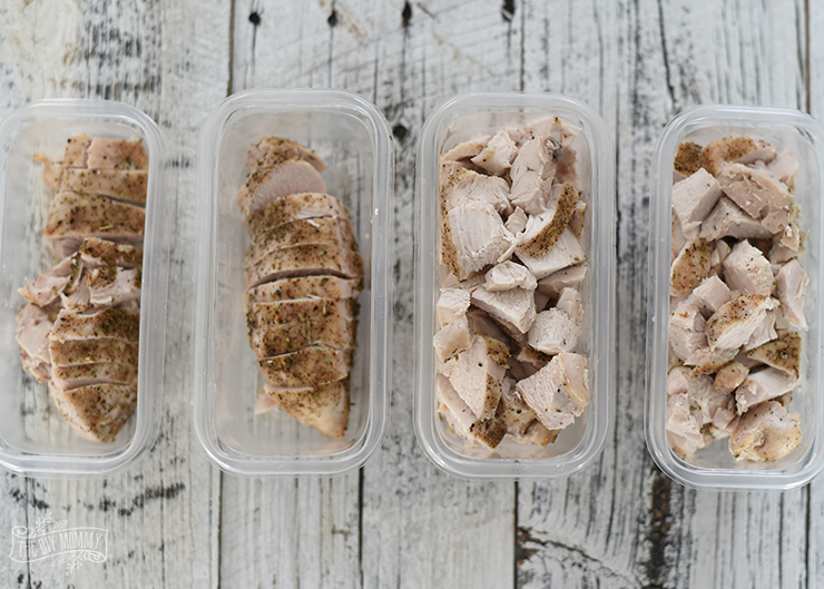 How to bulk cook chicken for the week