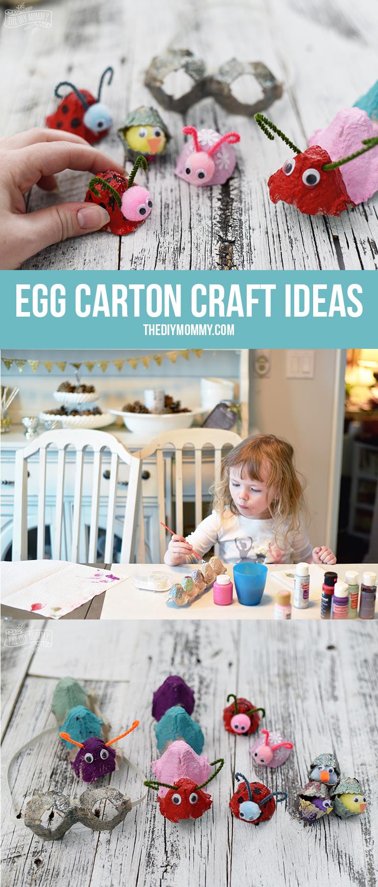 DIY Egg Carton Craft Ideas