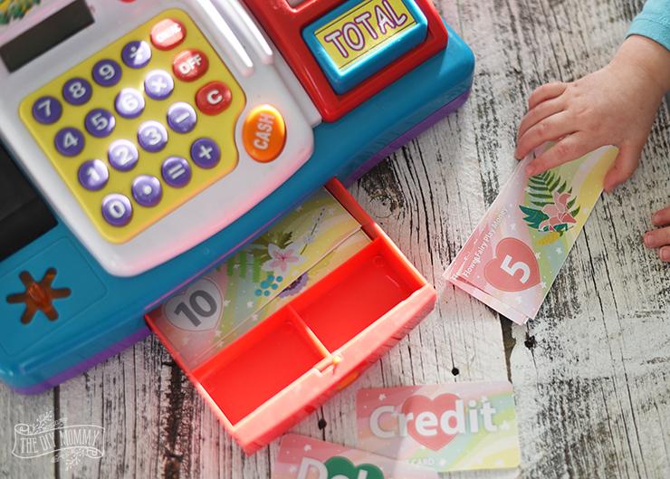 Free Flower Fairy Printable Play Money