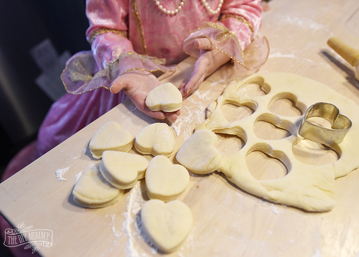 Heart Shaped Beignets Recipe for Valentine's Day