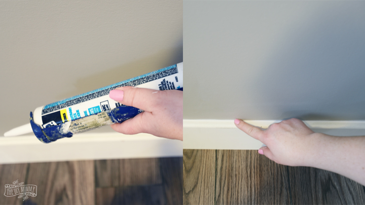 How to caulk trim before painting