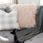 How to Sew a Faux Fur Pillow Cover + My Tips for Sewing with Faux Fur (Video)