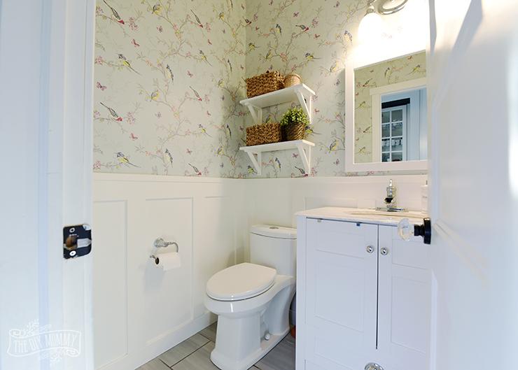 Small Bathroom Powder Room Organization Ideas