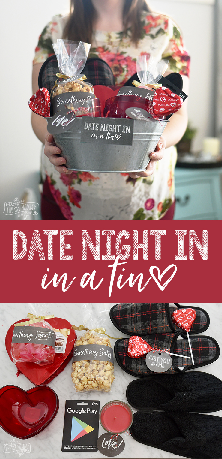 Valentine 39 S Day Date Night In Gift Basket Idea 24 More