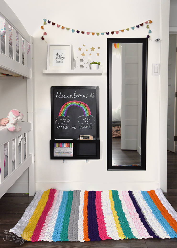 DIY Crochet T-Shirt Yarn Rug Tutorial Video