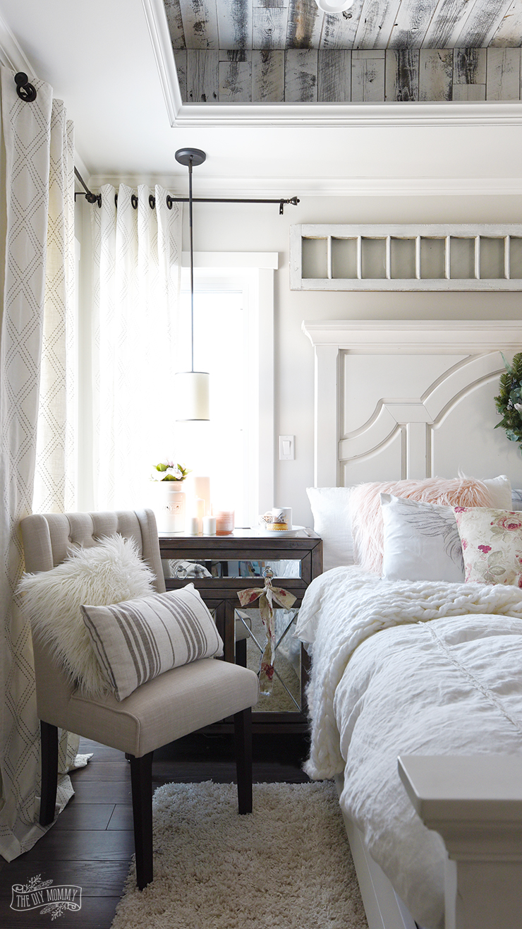 Romantic bedroom decor ideas the diy mommy for Rustic french country