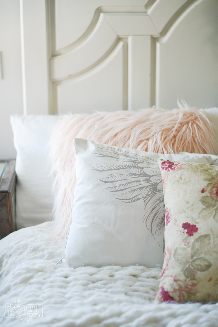 diy faux fur pillows diy knit blanket diy nightstand nicolet