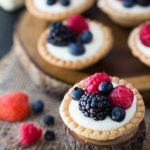Cream Cheese Fruit Tarts + The Creative Corner #132: DIY, Craft & Home Decor Link Party