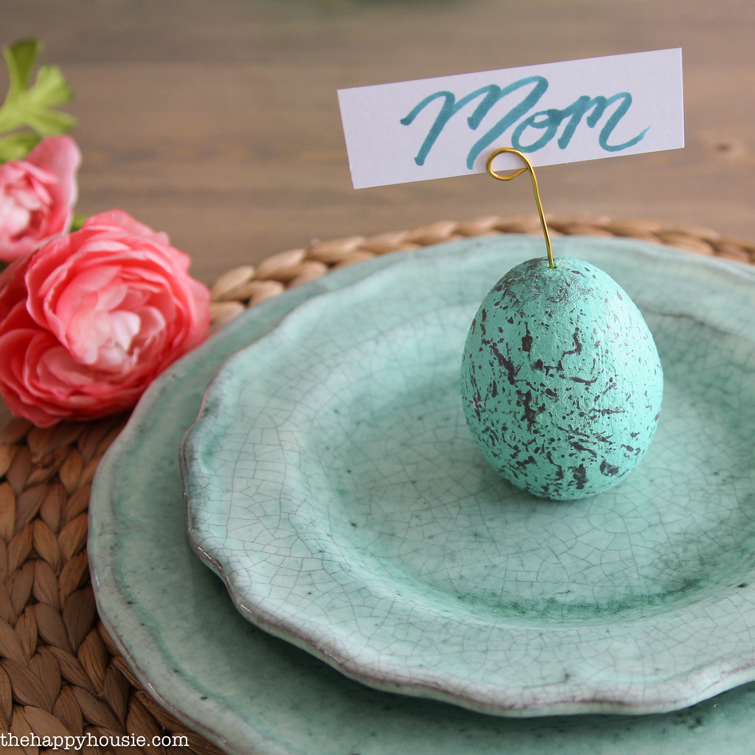 diy speckled egg place card holders the creative corner 138 diy