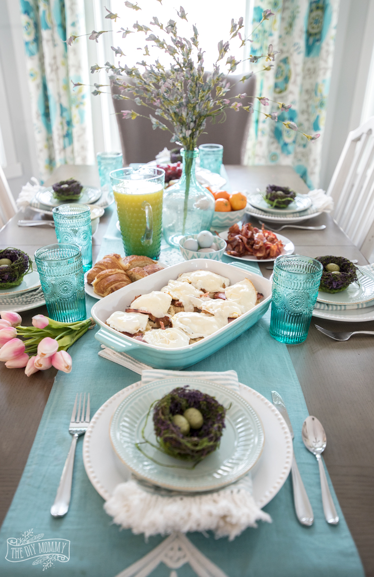 Easy easter brunch ideas the diy mommy Fun easter brunch ideas