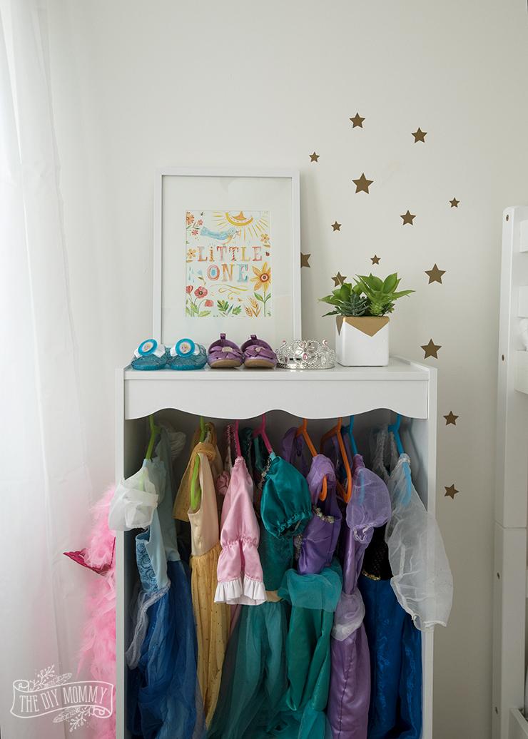 Modern Scandinavian Rainbow Toddler Bedroom Makeover