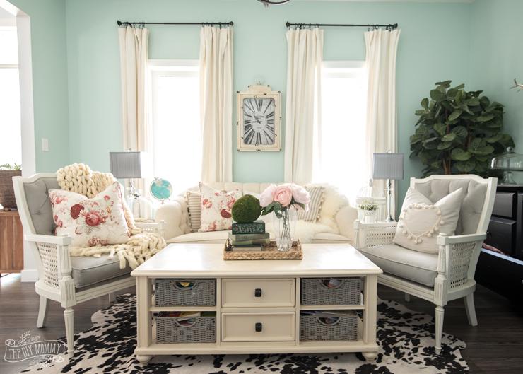 Spring Home Decor Ideas - The DIY Mommy