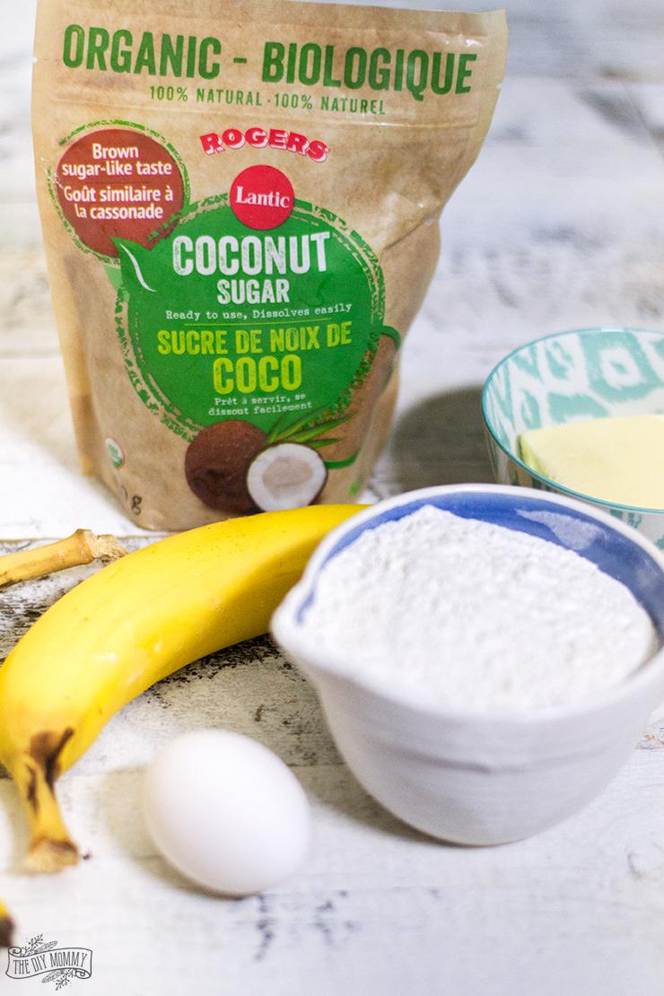 The BEST banana bread recipe with coconut sugar