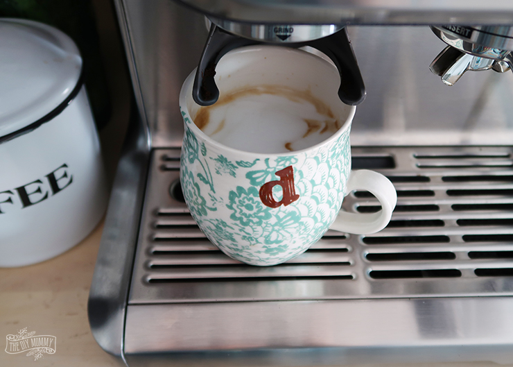 DIY Vanilla Latte with DIY Vanilla Syrup with the Breville Barista Express