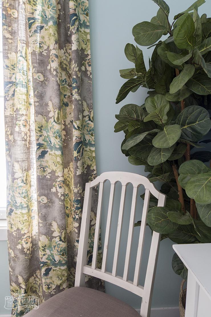 How to sew DIY hidden tab drapes - video tutorial