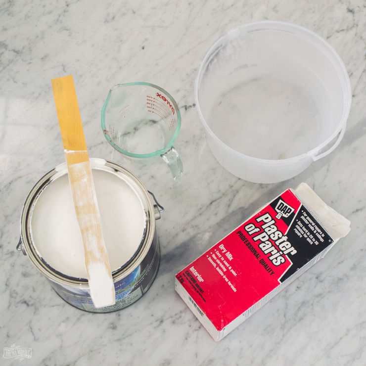 How to make DIY chalk style paint