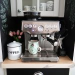 DIY Vanilla Latte with DIY Vanilla Syrup with the Breville Barista Express