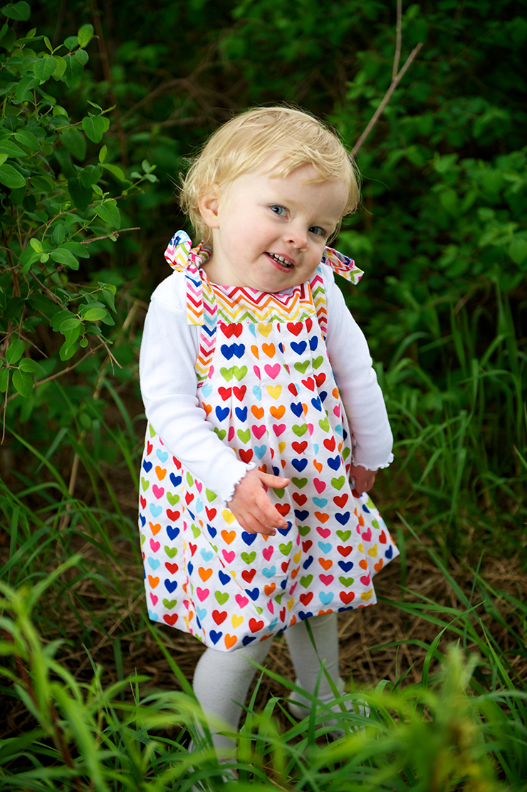 Grow With Me Bubble Dress FREE Baby Dress Sewing Pattern
