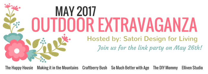 Outdoor Extravaganza Link Party 2017: Share YOUR Outdoor DIY Projects!