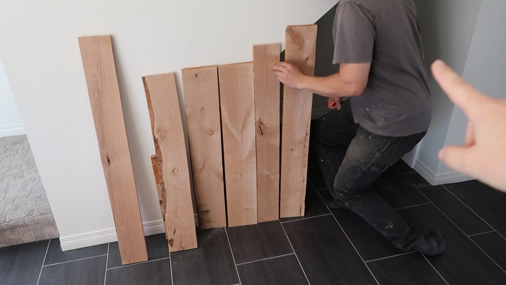 How to Build an Under Stairs Pantry with a DIY Sliding Barn