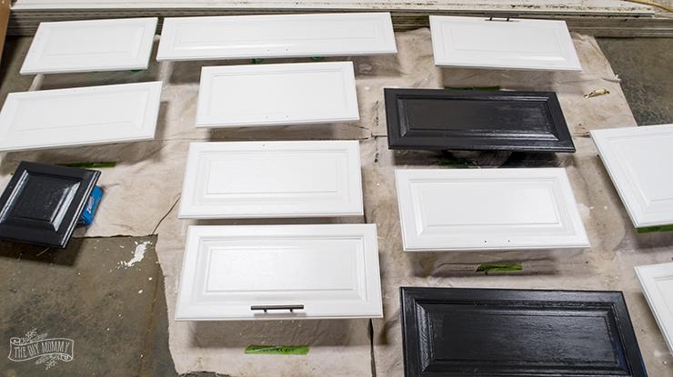 Painting Camper Cabinet Doors