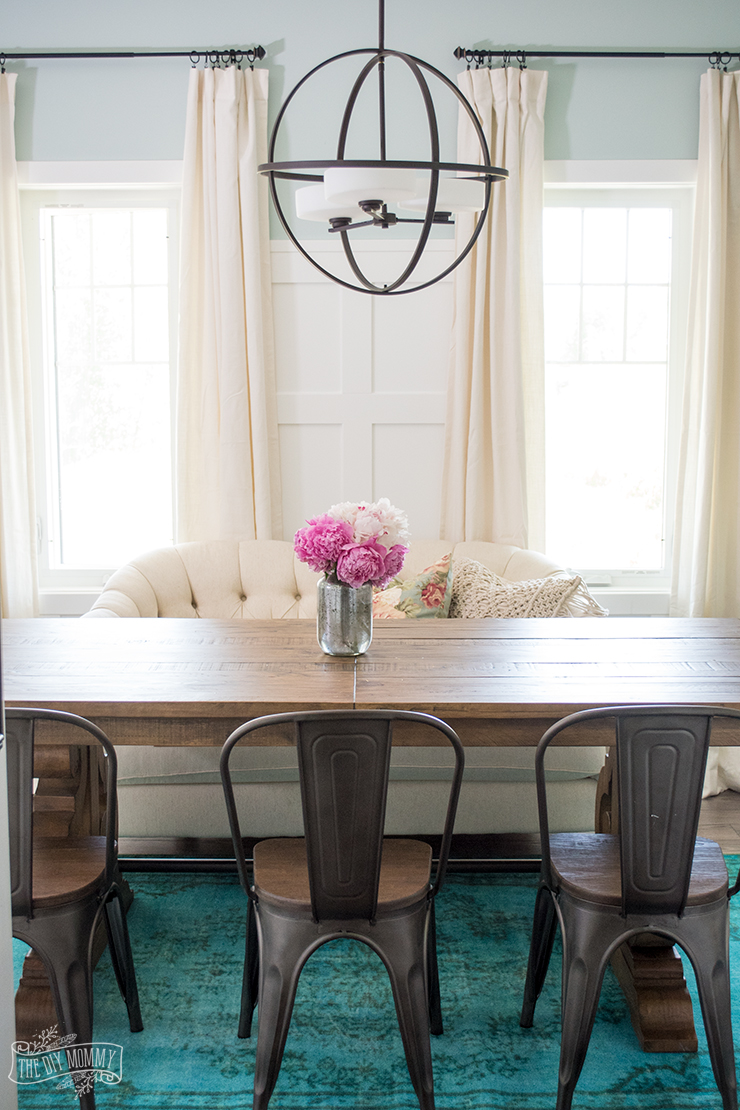 The Magic Of Accessories Our Summer Dining Room Decor