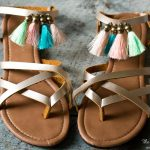 DIY Fringe Sandals + The Creative Corner #157: DIY, Craft & Home Decor Link Party