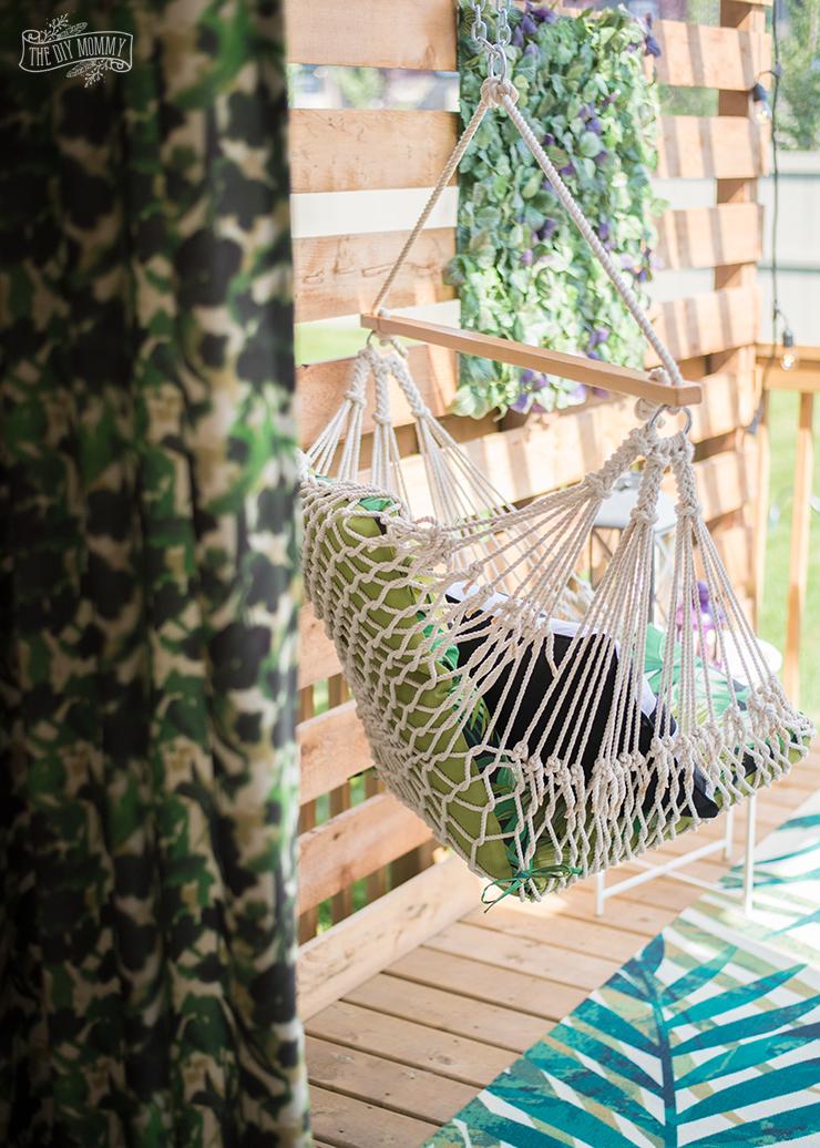 Budget Friendly Modern Boho Deck Makeover
