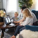A Day in the Life of a Work at Home Mom