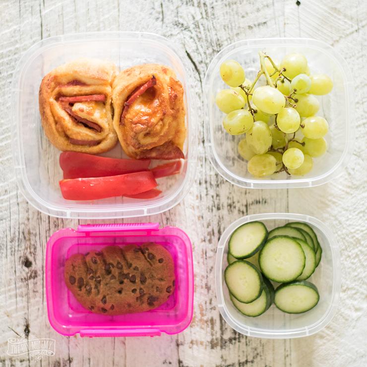 Easy Make Ahead School Lunch Idea
