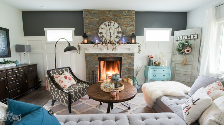Boho Farmhouse Fall Living Room Decor Ideas