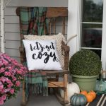 "Make a ""Let's Get Cozy"" Pillow for Fall (Free SVG & Printable File)"
