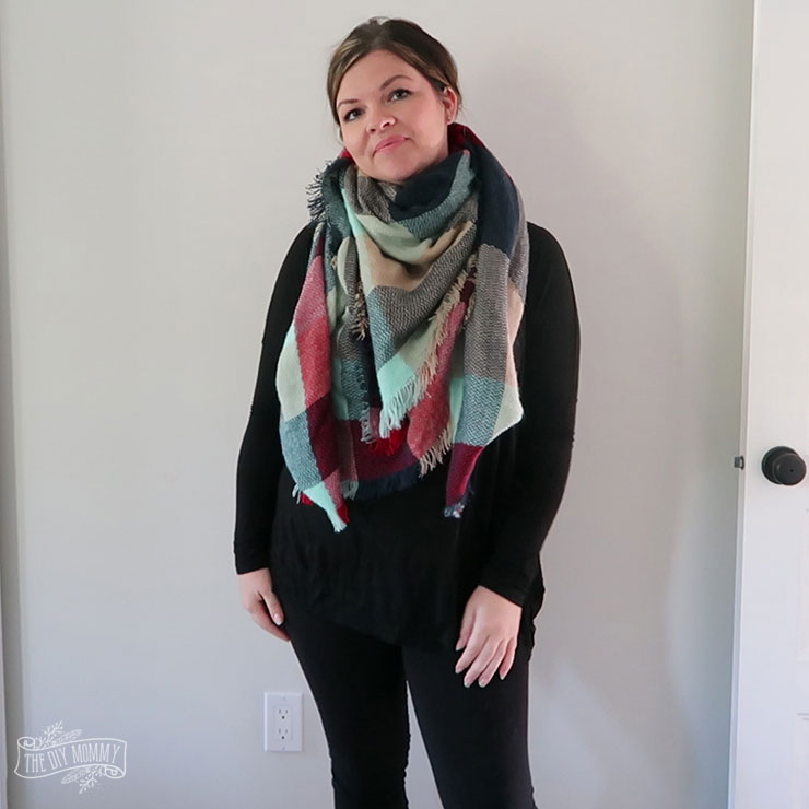 13 Ways to Wear a Blanket Scarf