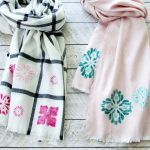 DIY Stenciled Scarves + The Creative Corner #161: DIY, Craft & Home Decor Link Party