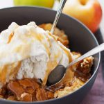 Apple Cake Sundae + The Creative Corner #163: DIY, Craft & Home Decor Link Party