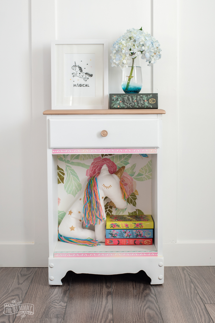 Budget nightstand makeovers