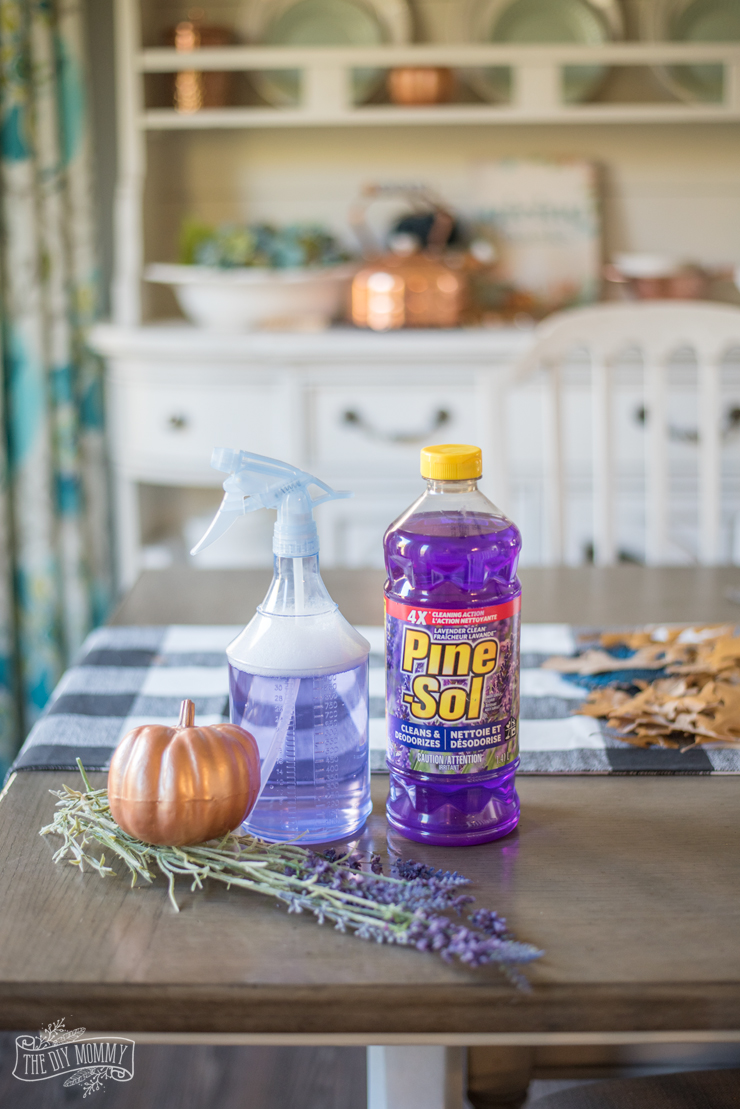 How to make your home feel calm and cozy - Fall cleaning routine