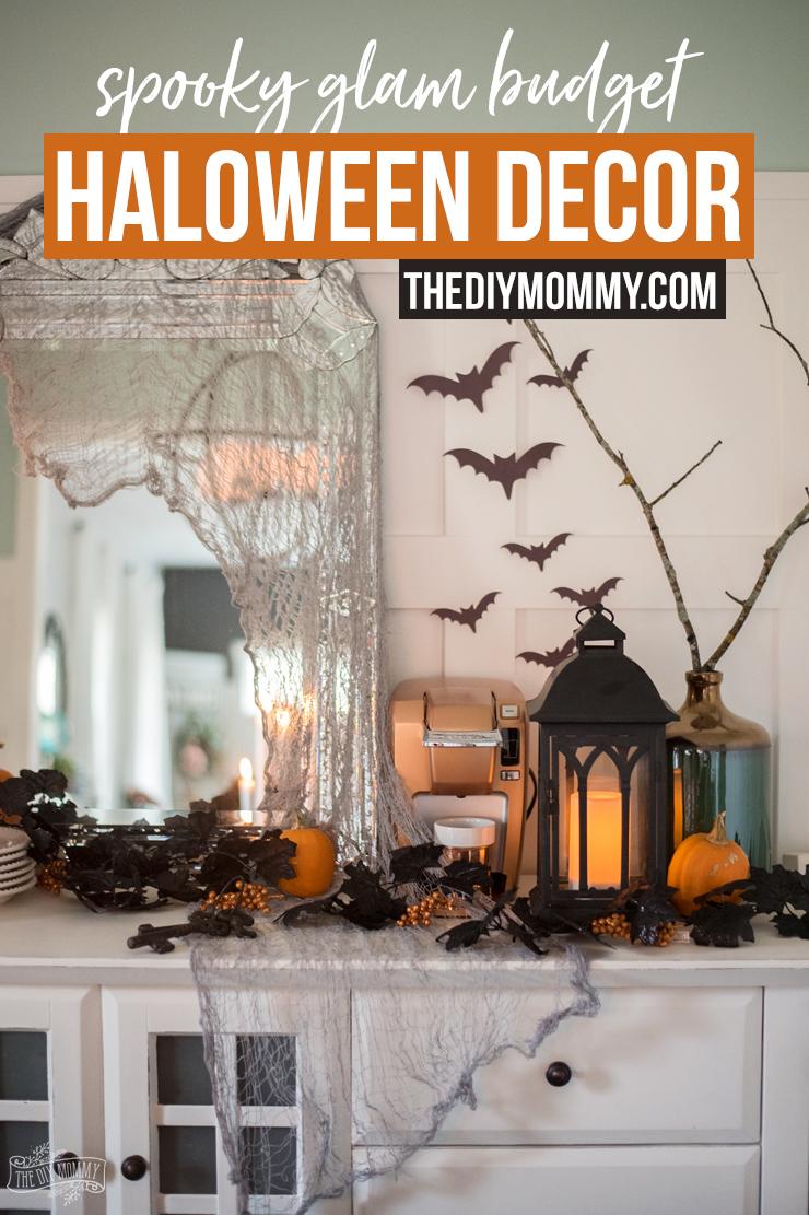Spooky Glam Halloween Decor Ideas On A Budget
