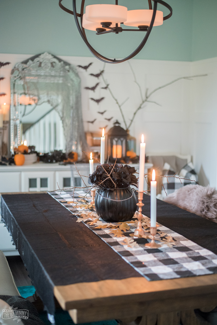 Spooky Glam Halloween Decor Ideas On A Budget The Diy Mommy