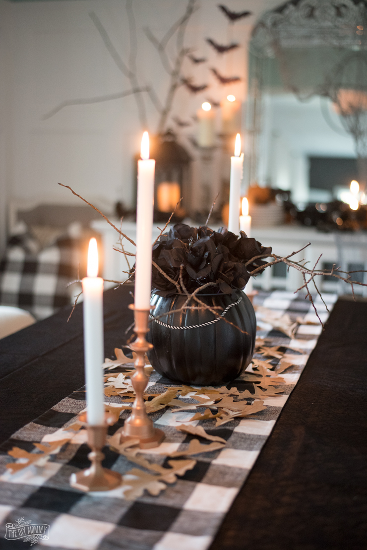 Spooky gothic glam Halloween Decor Ideas on a budget
