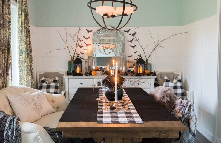 Spooky Glam Halloween Decor Ideas on a Budget
