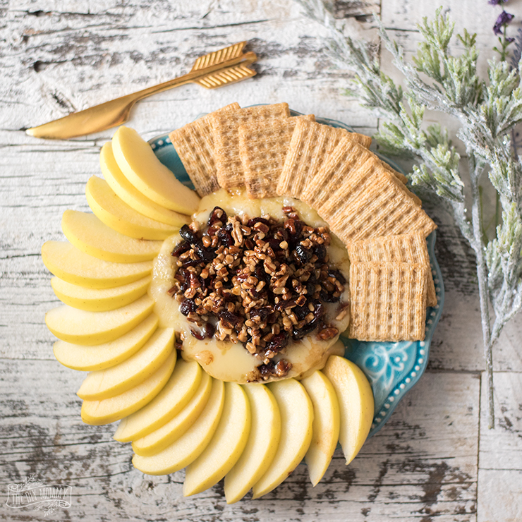 Cranberry Pecan Baked Brie Recipe