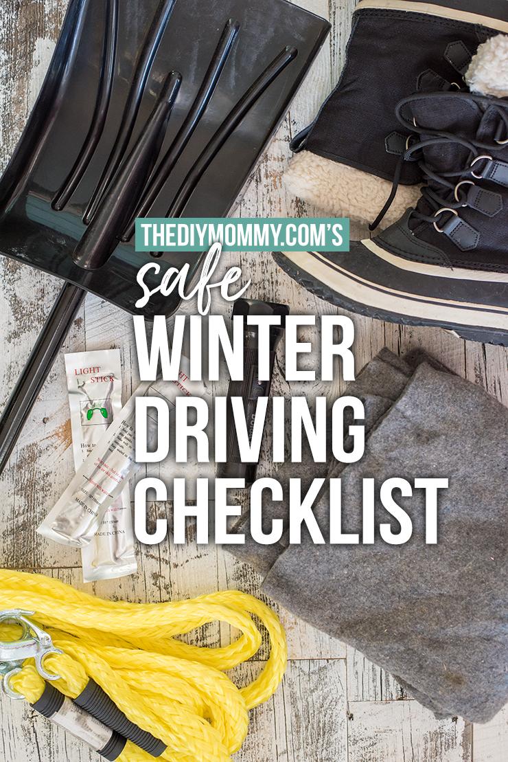 DIY Safe Winter Driving Checklist