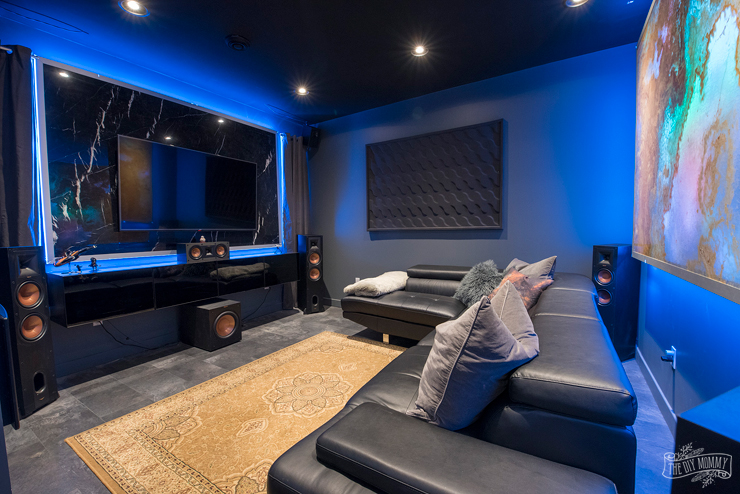 Man Cave / Theatre Room Ideas