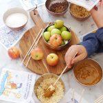 DIY Caramel Apple Station + The Creative Corner #169: DIY, Craft & Home Decor Link Party