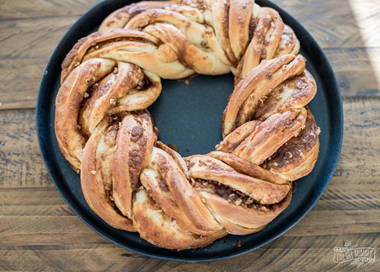 Cinnamon Christmas Breakfast Wreath The Diy Mommy