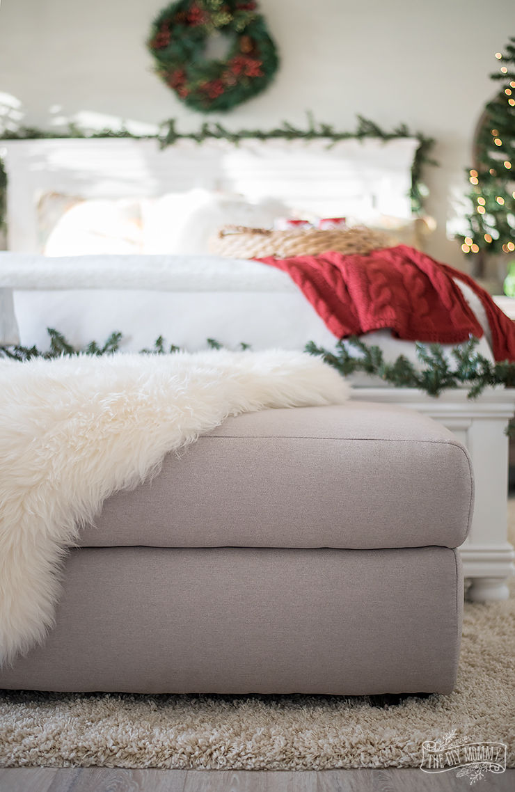 Traditional Christmas Bedroom Decor Ideas Mom S Lake House The Diy Mommy