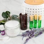Essential Oil DIY Ideas – Room Spray, Roller Bottles & Epsom Salts with FREE Label Cut File